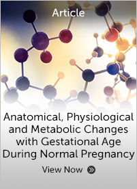Anatomical Physiological and Metabolic Changes