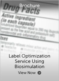 Certara Label Optimization Service