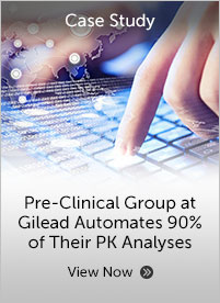 Preclinical Group at Gilead Automates 90% of their PK Analyses and Report Generation