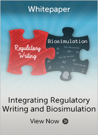 Integrating Regulatory Writing and Biosimulation