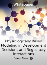 Physiologically Based Modeling in Development Decisions and Regulatory Interactions